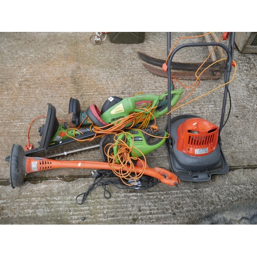 15 - LOT OF STRIMMERS & HEDGE TRIMMERS...