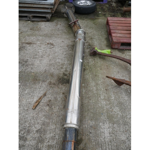 8 - LARGE FLUE PIPE...