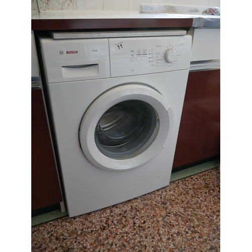 11 - BOSCH WASHING MACHINE...