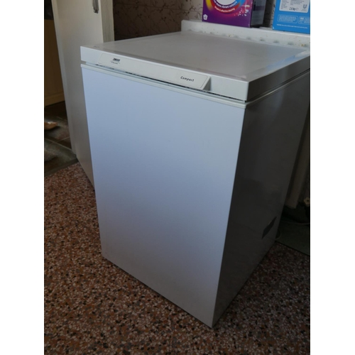 12 - ZANUSSI CHEST FREEZER...