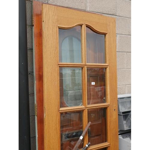 32 - MAHOGANY & OAK EXTERNAL DOORS...
