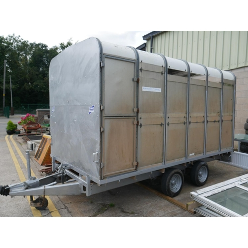 11 - IFOR WILLIAMS 12X5.9 D/P CATTLE TRAILER...
