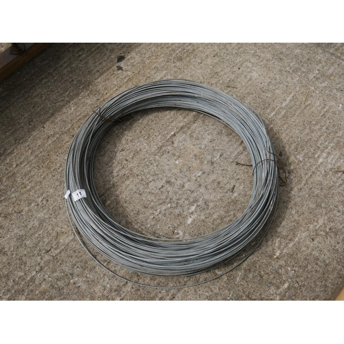 11 - LOT OF BULL WIRE...