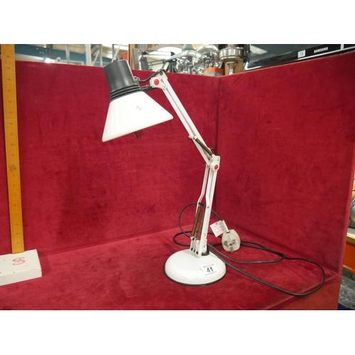 41 - ANGLE POISE LAMP...