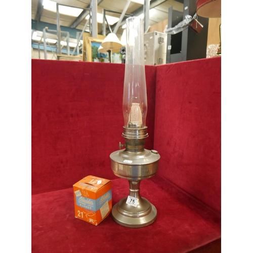 75 - ALADDIN LAMP & MANTLE...