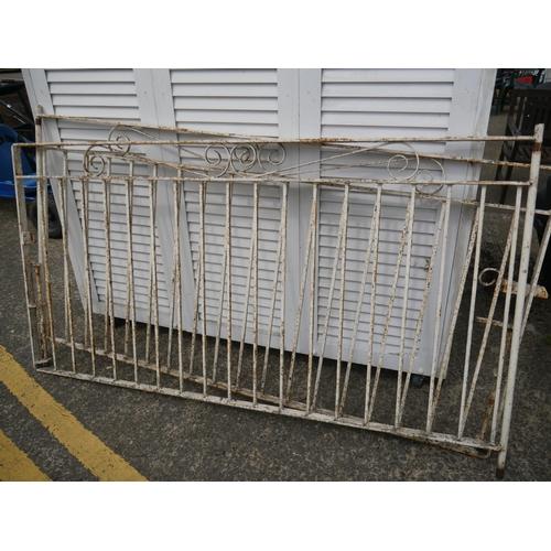 26 - PAIR OF ENTRANCE GATES...