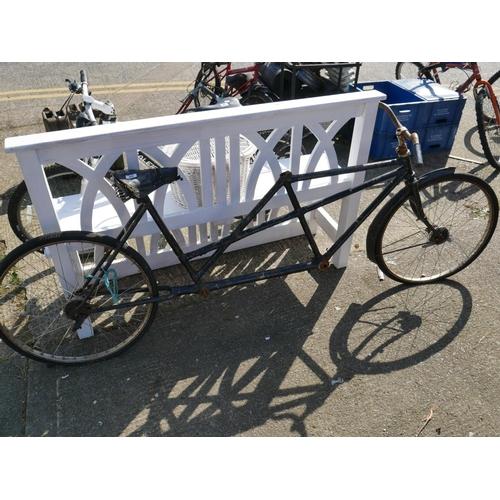 20 - TANDEM BICYCLE FRAME...