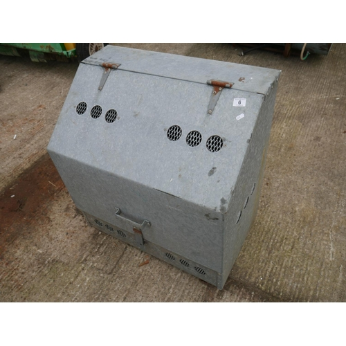 6 - GAS STORAGE BOX...