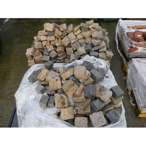 2 - 2 PALLETS OF PAVING STONES...