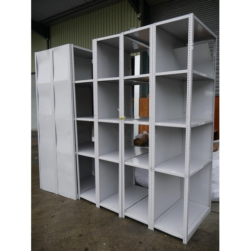 7 - DEXION SHELVING UNITS X 2...