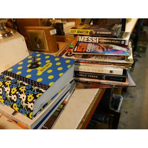 11 - LOT OF BOOKS...