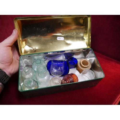 23 - BOX OF GLASS...