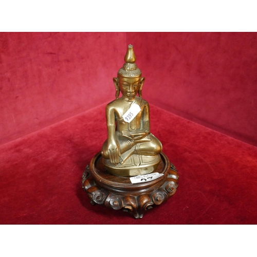 27 - BRASS BUDDHA ORNAMENT...
