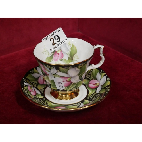 29 - ROYAL ALBERT CUP & SAUCER...