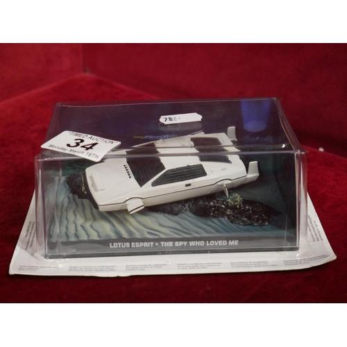34 - MODEL CAR...