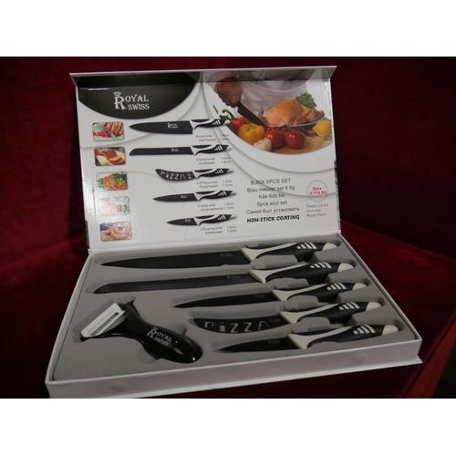 36 - BOXED KNIFE SET...