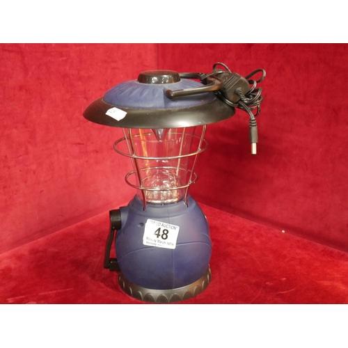 48 - CAMPING LAMP...