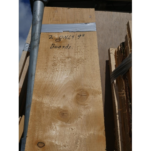 48 - 2 PLANKS APPROX 7'6