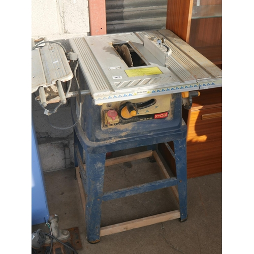 109 - TABLE SAW...