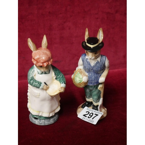 297 - 2 BESWICK FIGURES WITH BOXES...