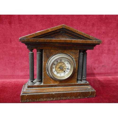 312 - VICTORIAN MANTLE CLOCK...