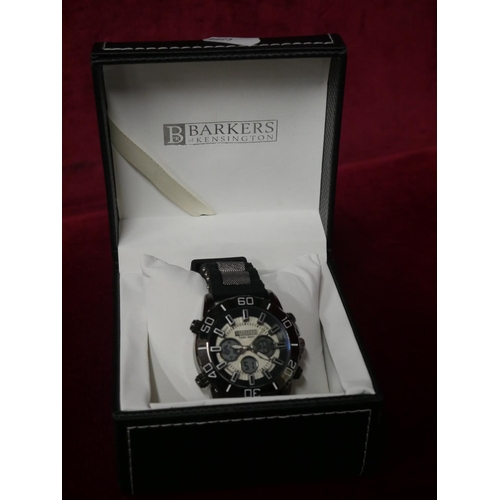 342 - BARKERS GENTS WATCH...