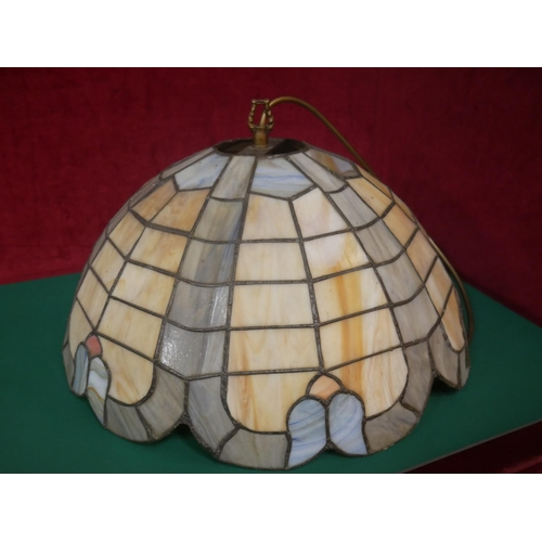 132 - TIFFANY HANGING LAMP...