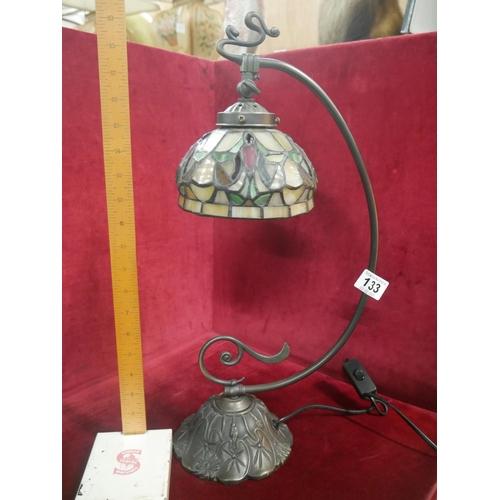 133 - TIFFANY TABLE LAMP...