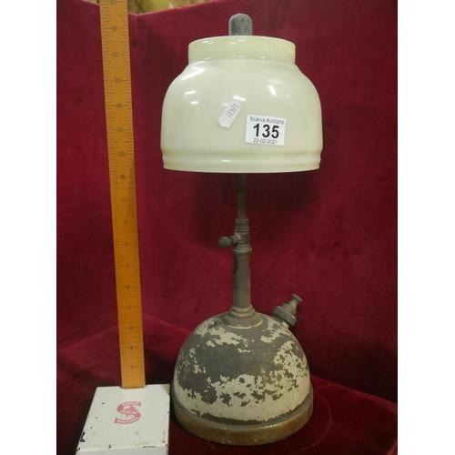 135 - TALL TILLEY LAMP...