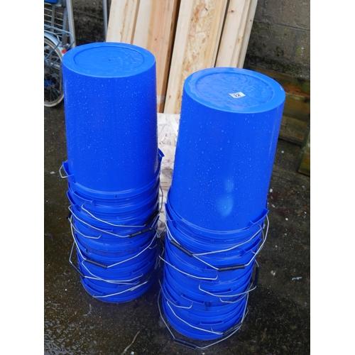 32 - 20 PLASTIC BUCKETS...
