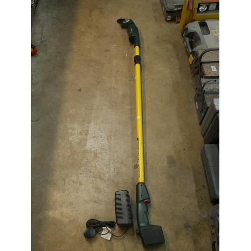 99 - CORDLESS LONG REACH HEDGE TRIMMER...