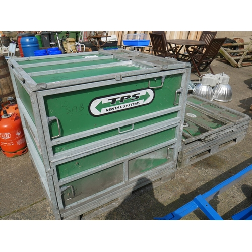 22 - COLLAPSIBLE STORAGE CRATE (WITH THE OPTION OF ANOTHER)...