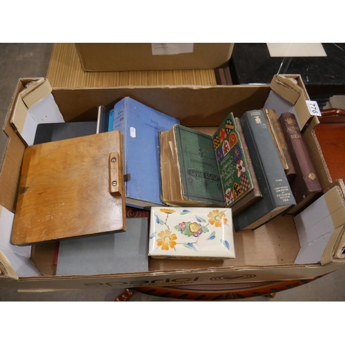 776 - BOX OF BOOKS...