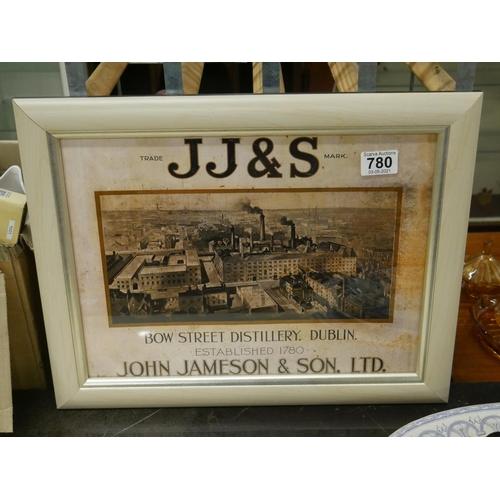 780 - JOHN JAMESON PRINT...