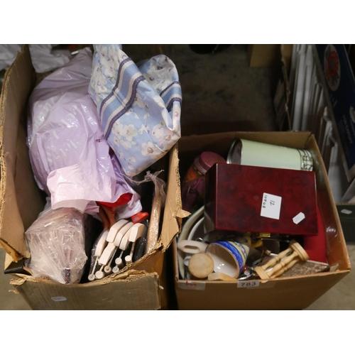 783 - 2 BOX LOTS...
