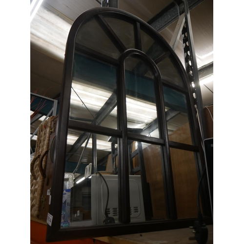 814 - ARCH TOPPED MIRROR...
