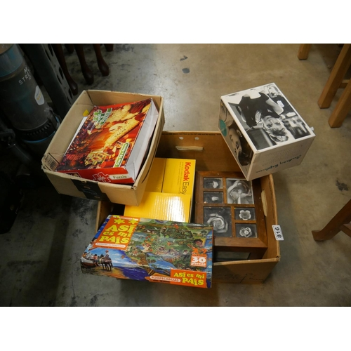 816 - BOX OF GAMES...