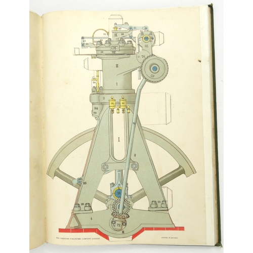 212 - Two volumes of Modern Power Generators with cut-out folding pages by James Weir French, Aggression P...