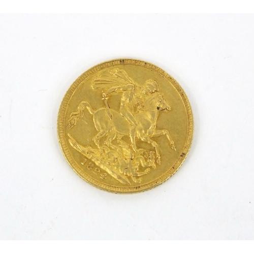 301 - George IIII 1824 gold sovereign...