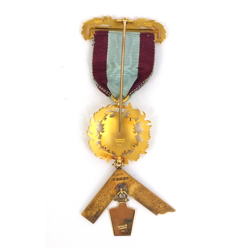 359 - 1894 Hong Kong plague medal awarded to Lieutenant Colonel Arthur Chapman when a Major for his effort...