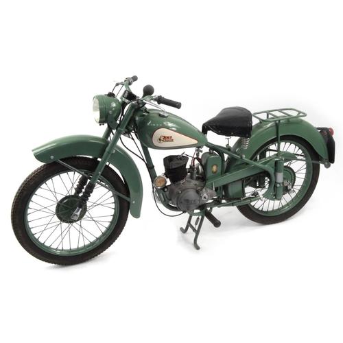 1952 green bsa bantam d1 125cc motorbike 15871 recorded. Black Bedroom Furniture Sets. Home Design Ideas