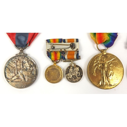 554 - British Military interest Royal Flying Corps medal group and related ephemera awarded to 7228.A.CPL....