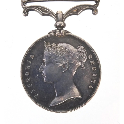 551 - British Military interest Queen Victoria China medal with Canton 1857 and Taku Forts 1858 bars