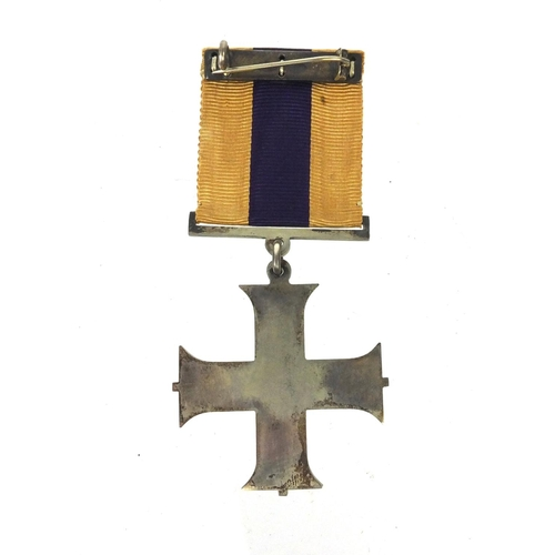 553 - British Military interest medals awarded to 2.LIEUT.T.T.NORRISH comprising World War I Victory medal...