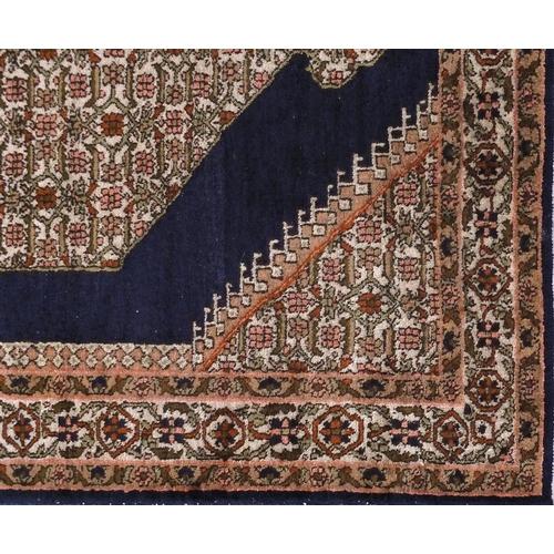 2006 - Rectangular Tabriz design silk rug, 122cm x 83cm