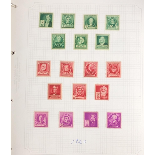 197 - World stamps, some sheets arranged in five albums including Dutch Antilles, Adolf Hitler sheets, Rus...