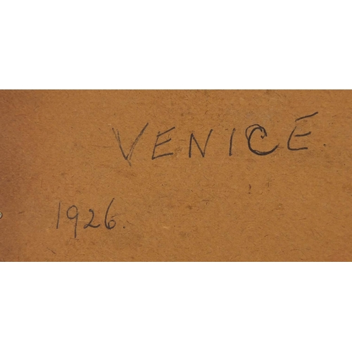 5 - Early 20th century Italian micro mosaic panel depicting the Rialto Bridge, inscribed Venice 1926 ver...