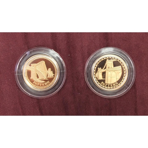 199 - Elizabeth II 2003 gold proof four coin pattern collection, with fitted case, certificate and box...
