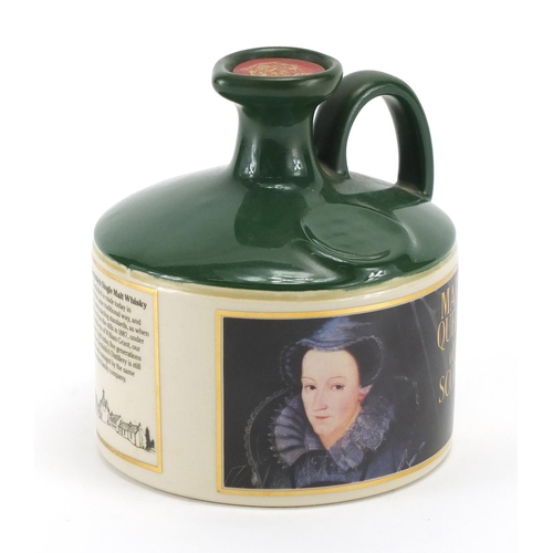 2056 - Glenfiddich Queen Mary of Scots Stoneware Decanter with contents...