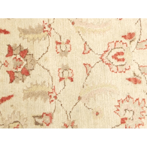 2015 - Rectangular Ziegler carpet rug, 284cm x 82cm...